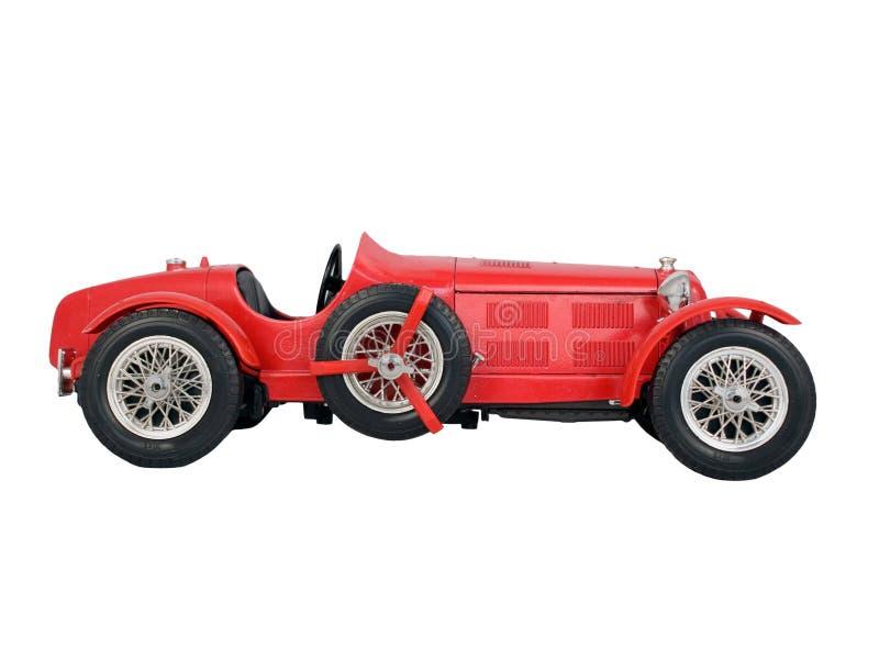 Red vintage car stock photos