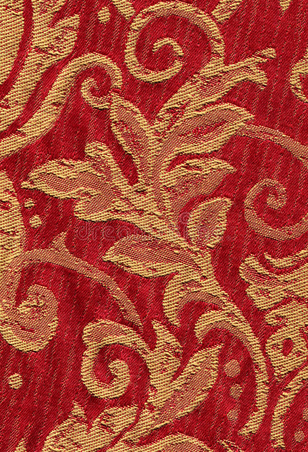 Free Red Vintage Fabric Royalty Free Stock Image - 17853656