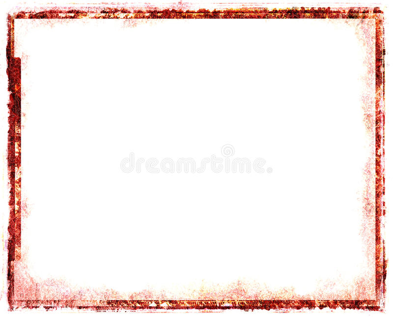 Download Red Vintage Frame Royalty Free Stock Photography - Image: 13101337