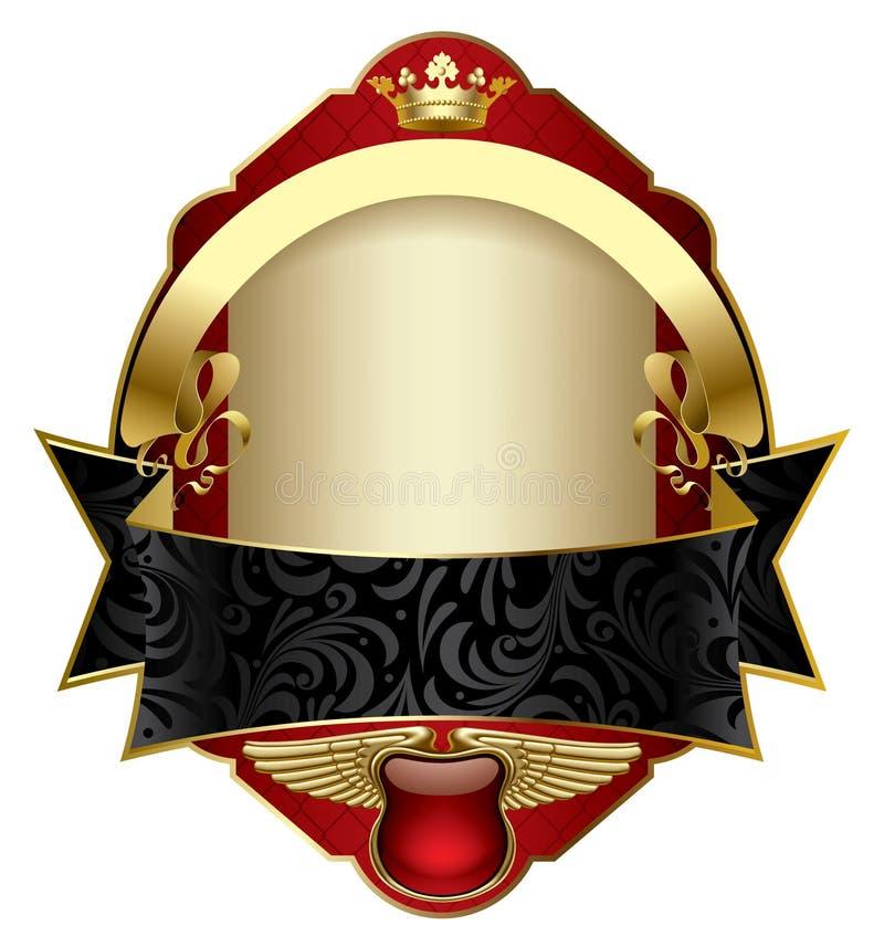 Download Red vintage label stock vector. Illustration of emblem - 20470177