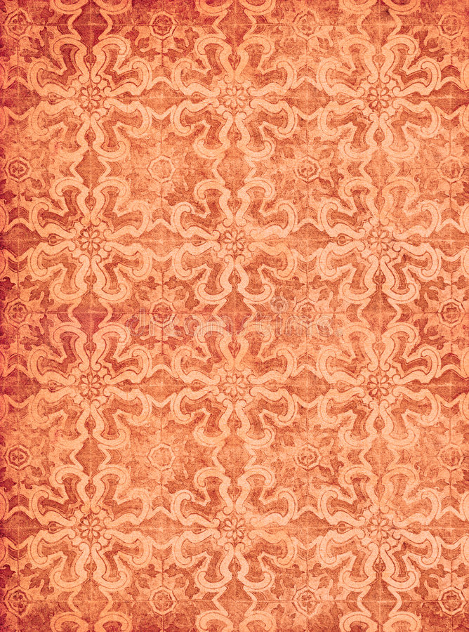 Free Red Vintage Wallpaper Royalty Free Stock Photo - 3045905