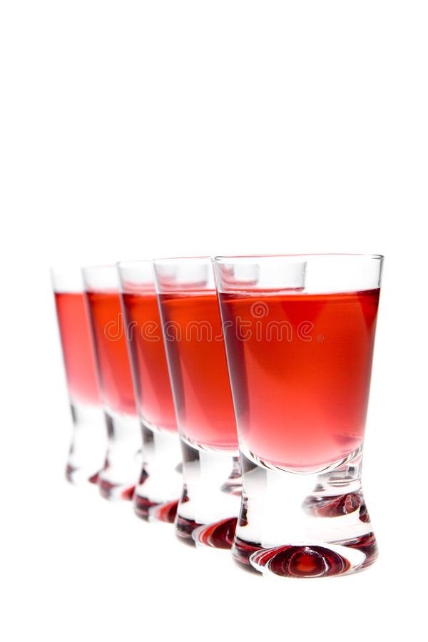 Free Red Vodka (liqueur) Royalty Free Stock Photos - 3581788