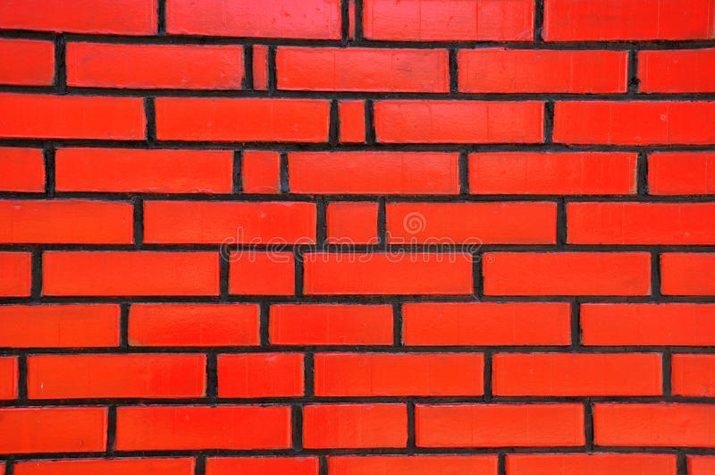 Download Red Wall stock photo. Image of construction, rectangular - 14766344