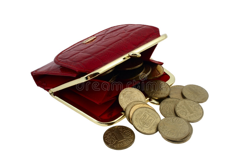 Download Red Wallet Stock Image - Image: 4402671
