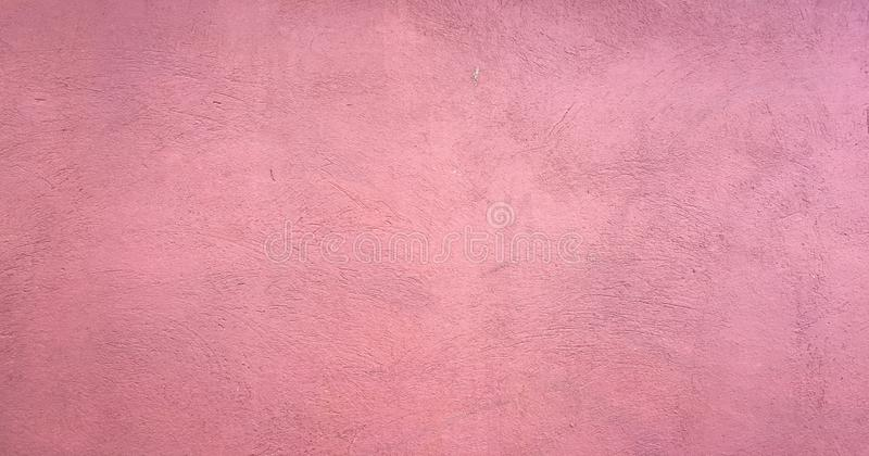 Red washed painted textured abstract background with brush paint strokes in white and black shades. Abstract pink painting art bac stock image