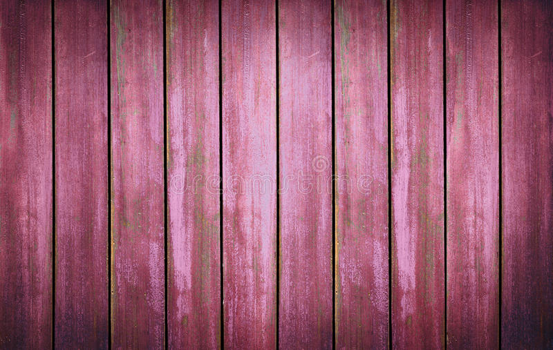 Red washed wood texture. background old panels stock images