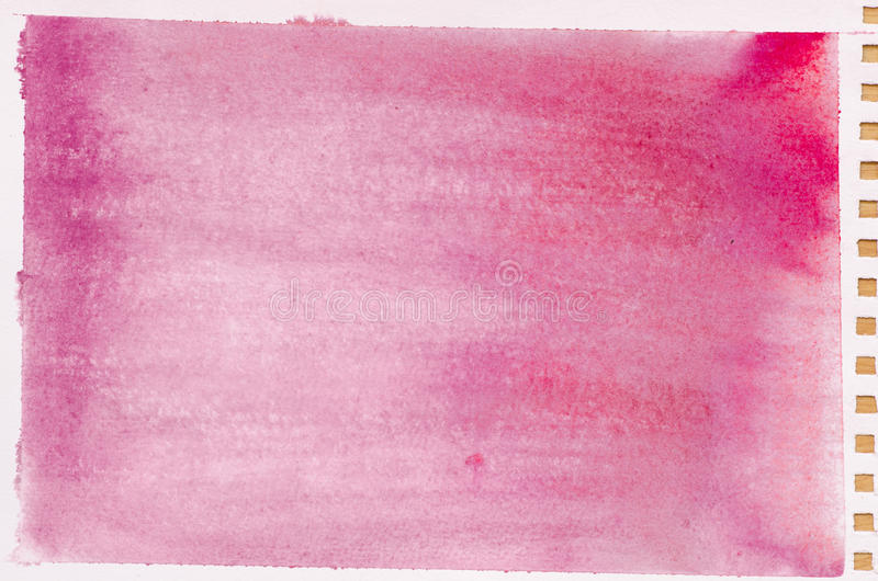Red watercolor background texture stock photography
