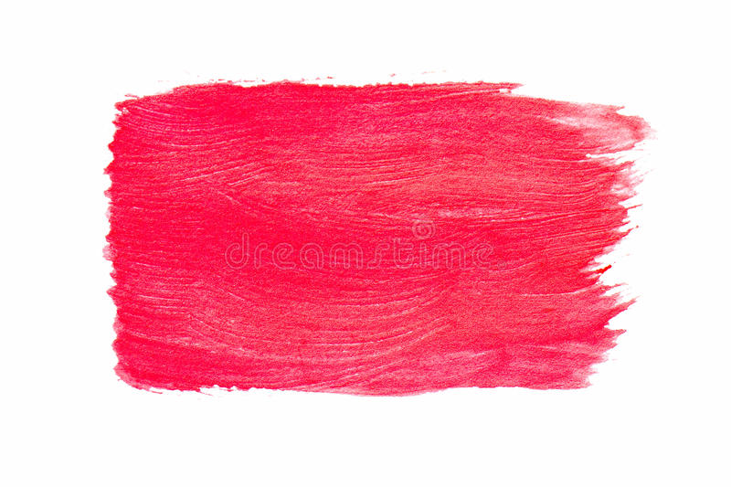 Red watercolor stock photography