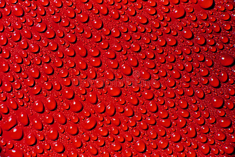 Download Red waterdrops stock image. Image of ripple, splash, bubbles - 2321525