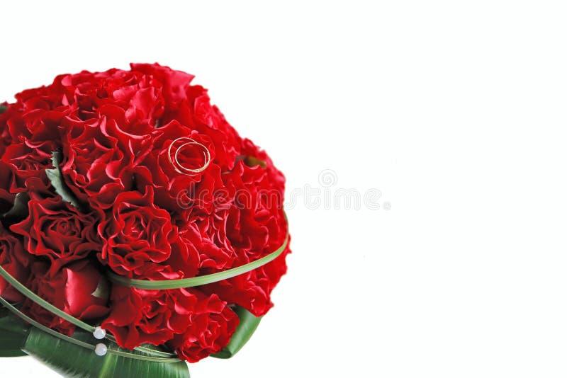Download Red wedding bouquet stock photo. Image of leaf, celebration - 7795432