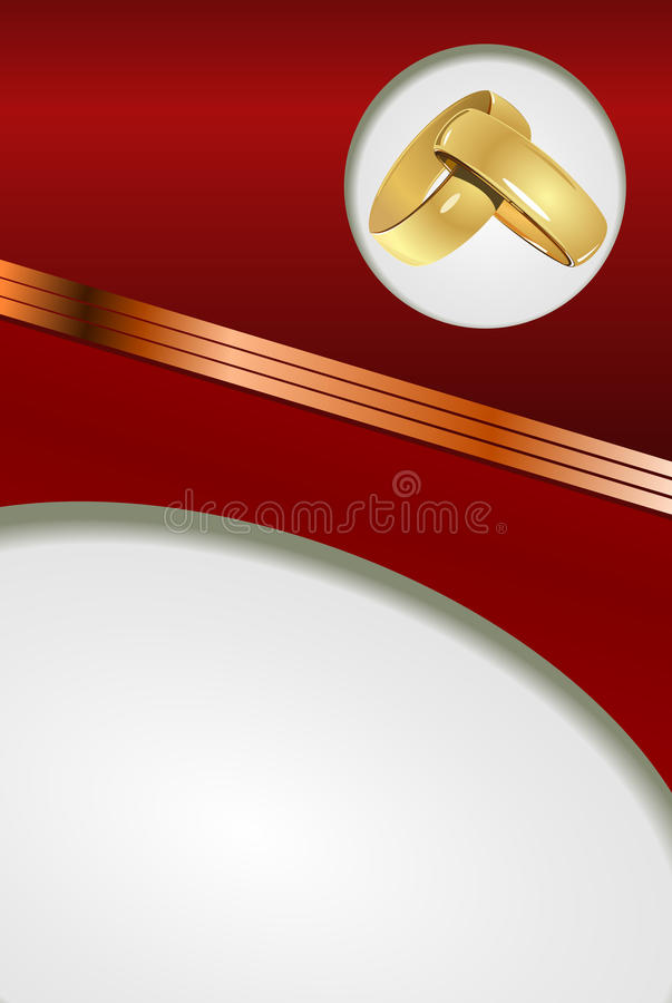 Download Red Wedding Card Royalty Free Stock Photography - Image: 26553987