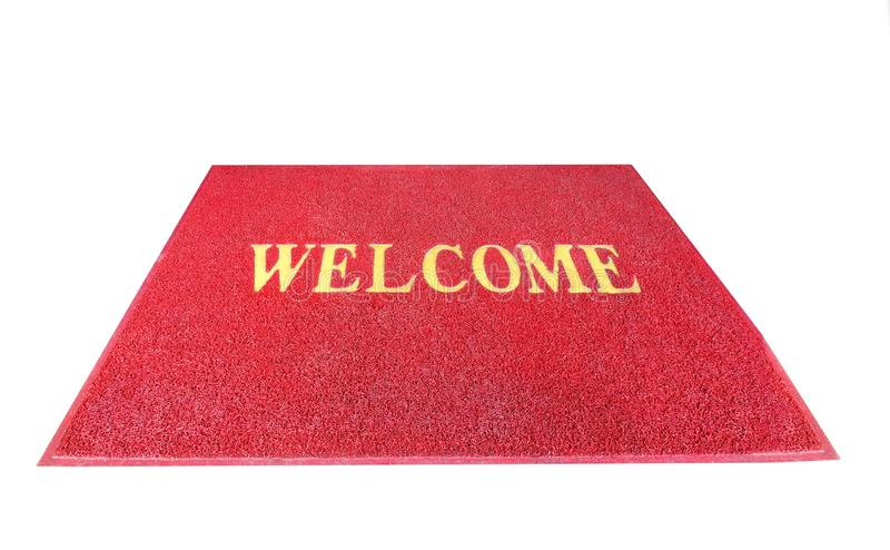 Download Red Welcome Carpet Mat Threshold Stock Photo - Image of doorstep hello  sc 1 st  Dreamstime.com & Red Welcome Carpet Mat Threshold Stock Photo - Image of doorstep ...