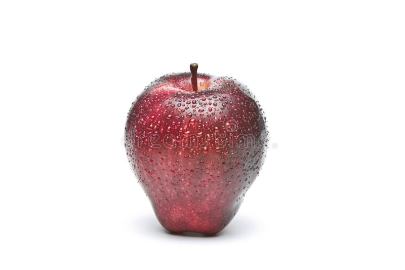 Red wet Apple