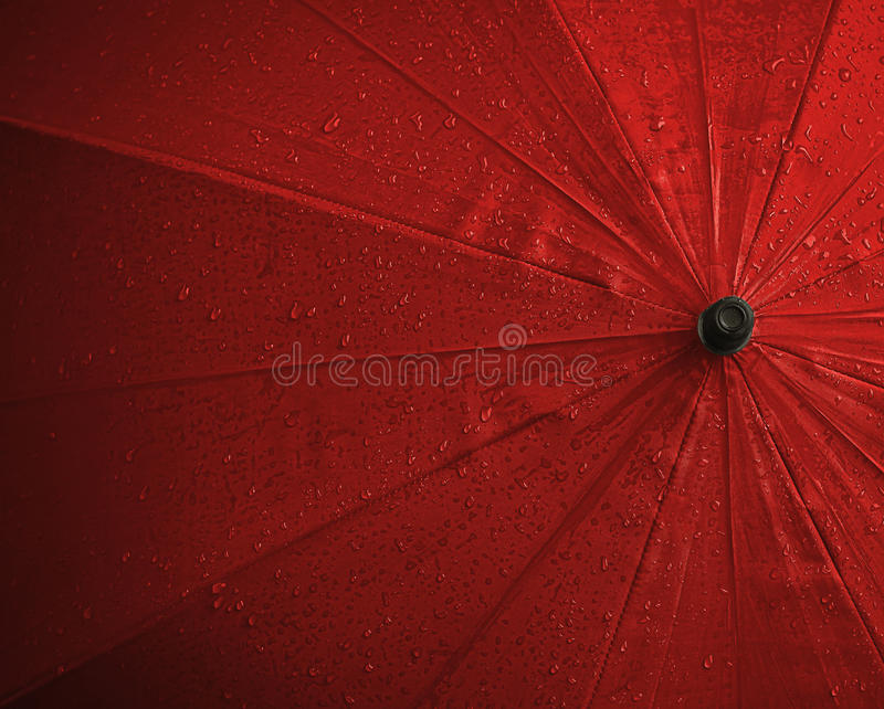 Download Red wet umbrella stock image. Image of drip, background - 26166913