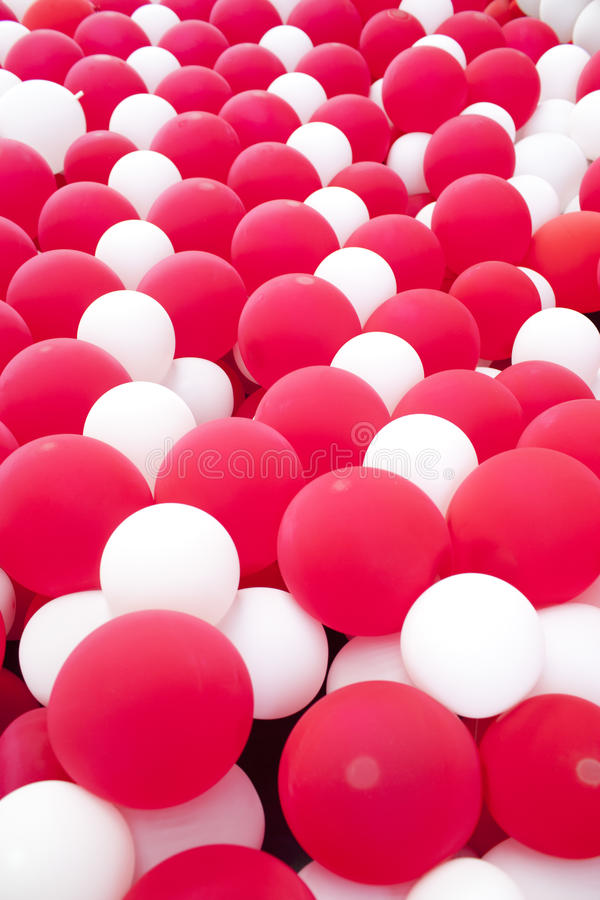 Download Red and white balloon wall stock photo. Image of holiday - 33293308