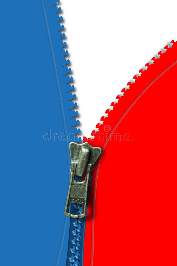 Download Red white and blue stock photo. Image of close, zipped - 464214
