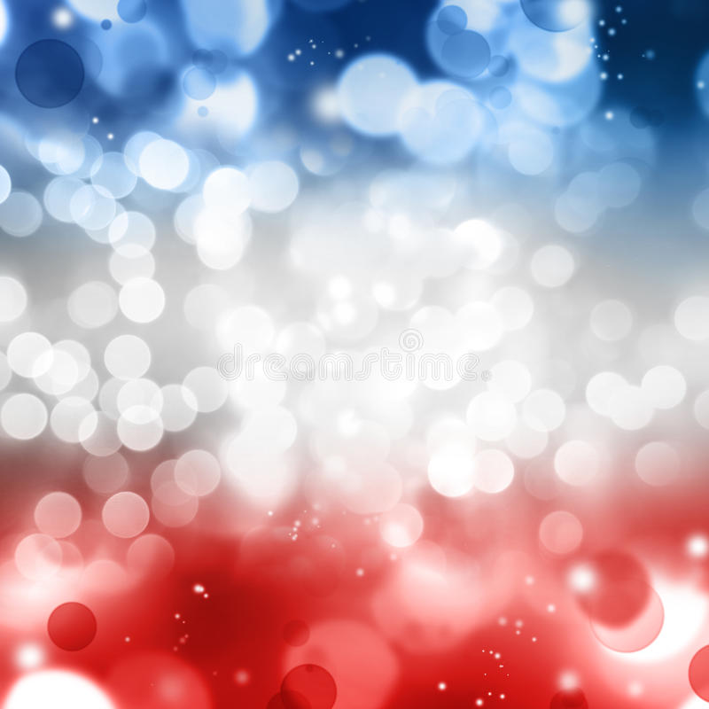 Red white and blue royalty free illustration