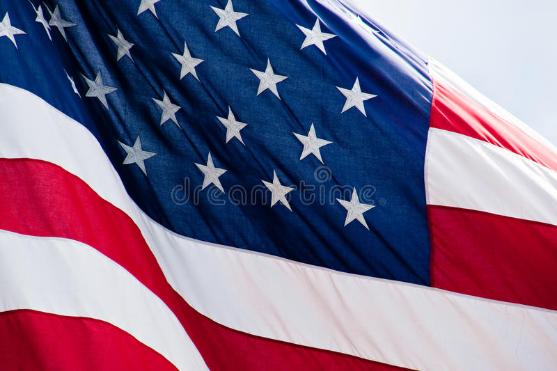 Download Red White and Blue Closeup stock image. Image of july - 14851593