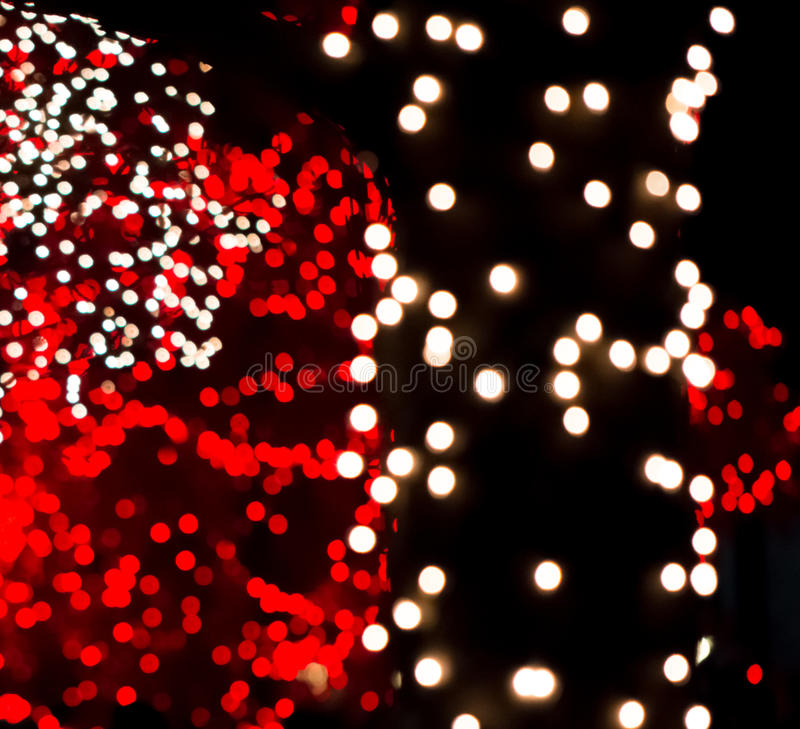 Free Red & White Bokeh Lights Stock Photo - 36828530