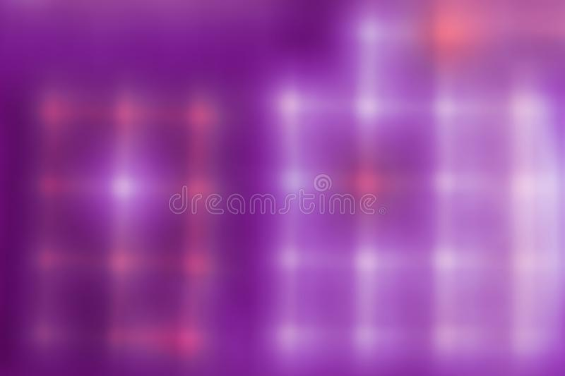 Red and white color connection point is a square. On the purple. Abstract background blurred color, colorful, design, wallpaper, art, wave, digital, decoration royalty free stock image