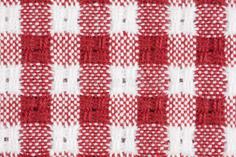 Download Red And White Gingham Checkered Macro Background Stock Image - Image of fashioned, fabric: 15764035