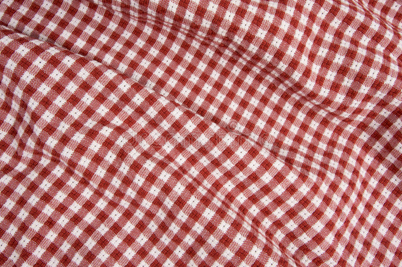 Download Red And White Picnic Blanket Stock Image - Image: 6182899