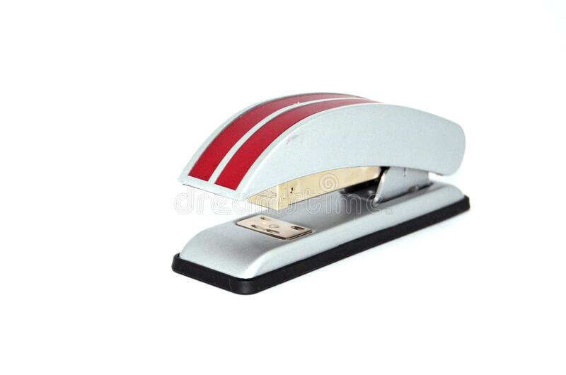 Red And White Stapler Free Public Domain Cc0 Image