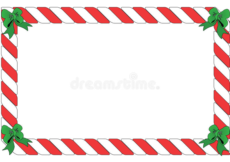 red and white striped border stock illustration image