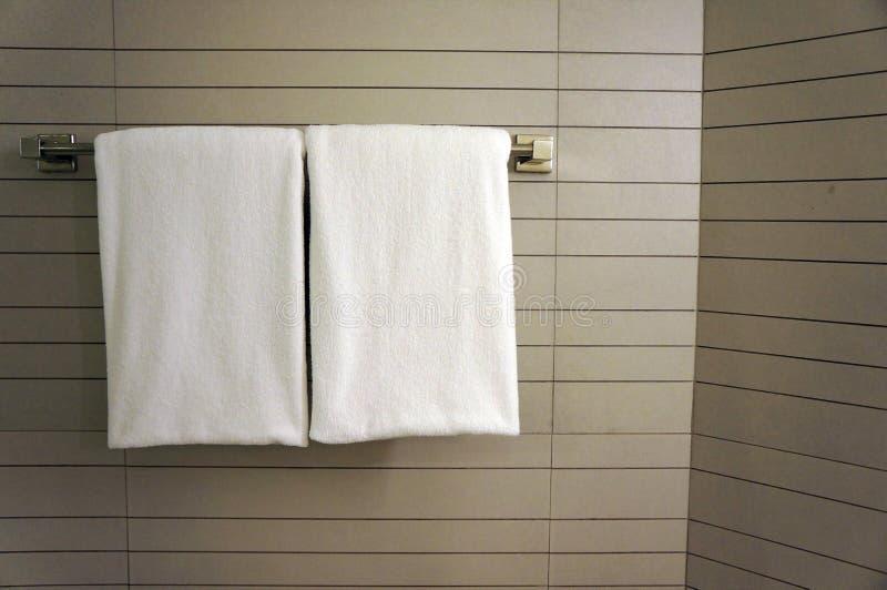 Bathroom Towel , Towels hanging in the bathroom. stock image