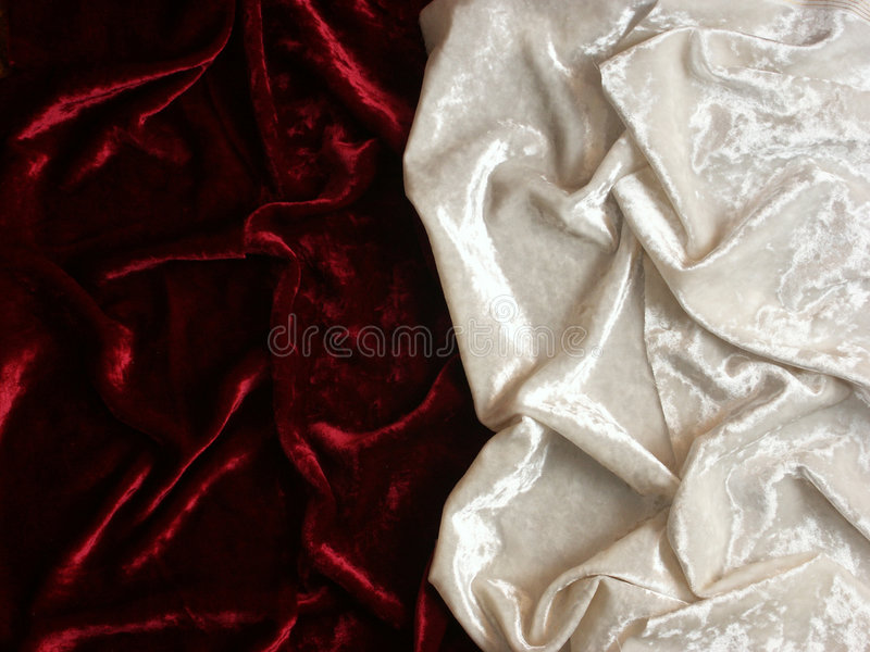 Download Red and white velvet stock photo. Image of gothic, background - 1610018