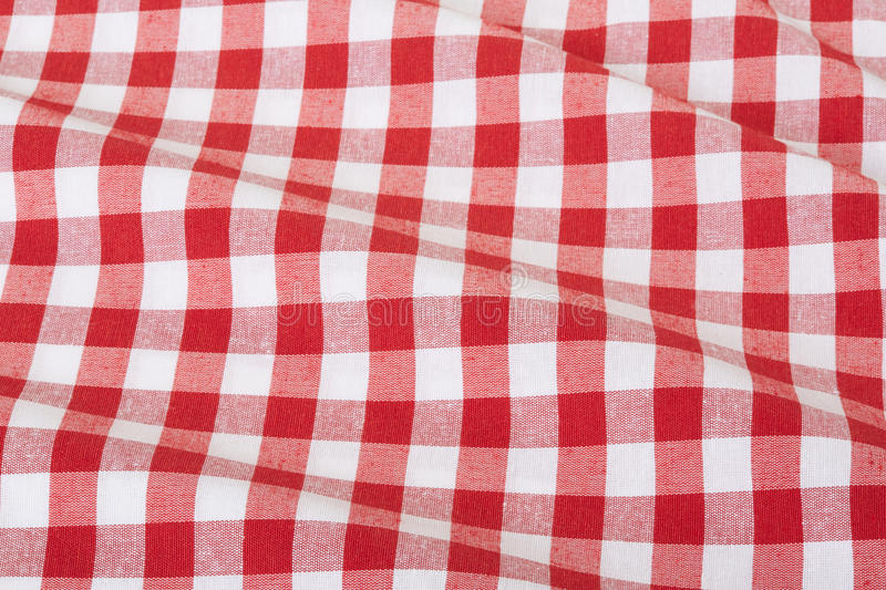 Download Red And White Wavy Tablecloth Stock Photo - Image: 31747596