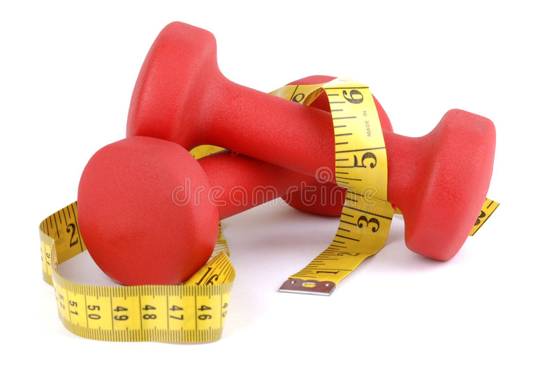 Download Red Wight with Tape stock image. Image of resistance, exercise - 1711377
