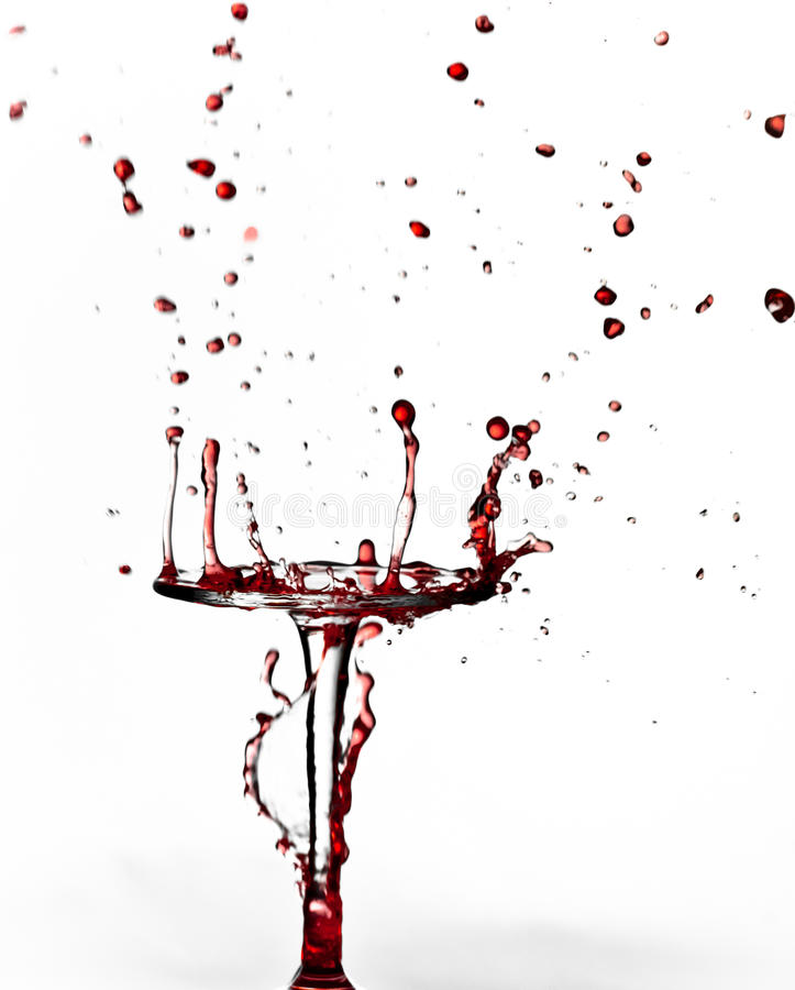 Red Wine stock photography