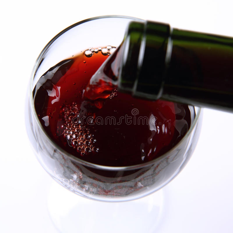 Download Red wine stock photo. Image of isolated, beverages, diet - 18054390
