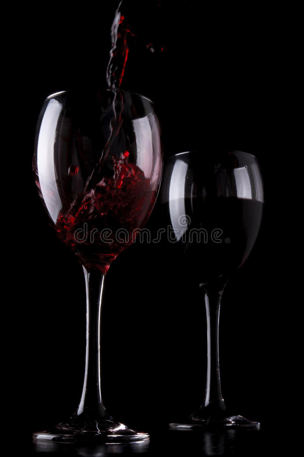 Download Red wine stock image. Image of restaurant, black, expression - 24903261