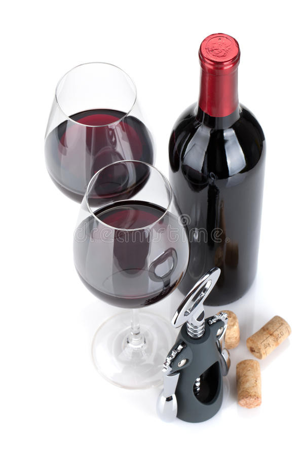 Download Red wine stock image. Image of crystal, closed, bottle - 27057111