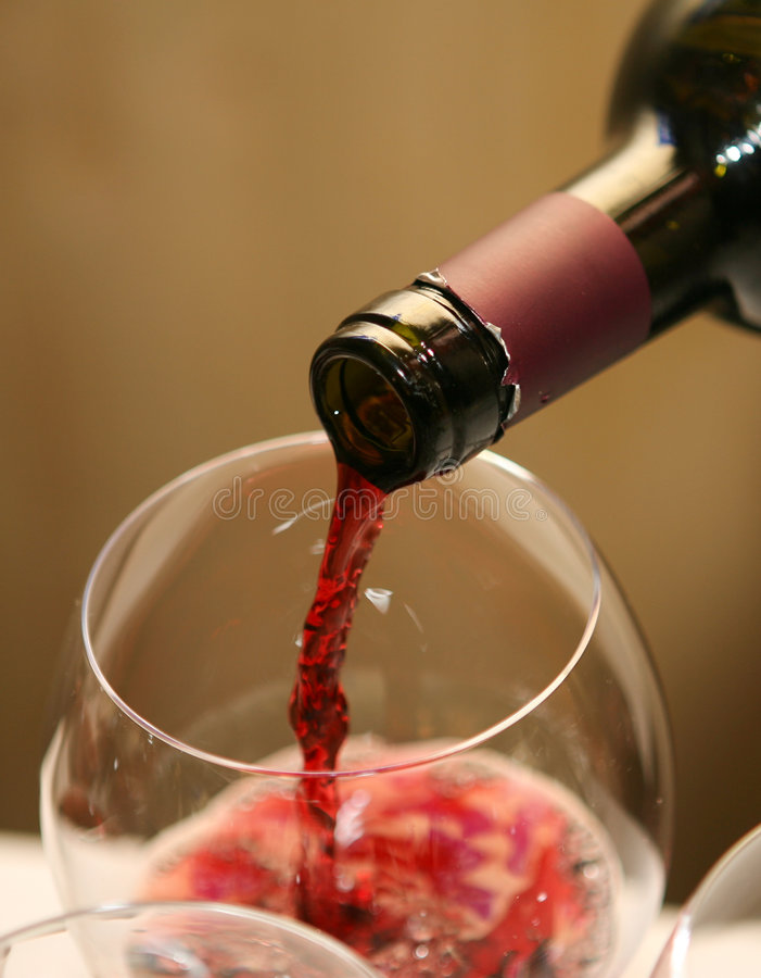 Download Red Wine stock image. Image of bottle, drinking, glass - 8852305