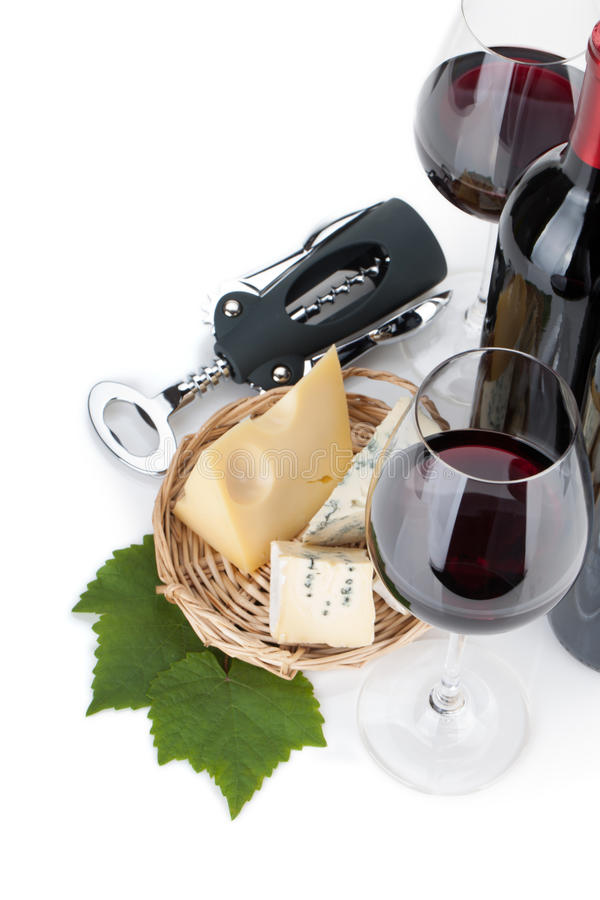 Download Red wine and cheese stock photo. Image of drink, leaf - 27018400