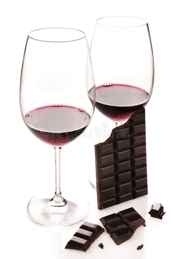 Download Red Wine And Chocolate Stock Images - Image: 33210564