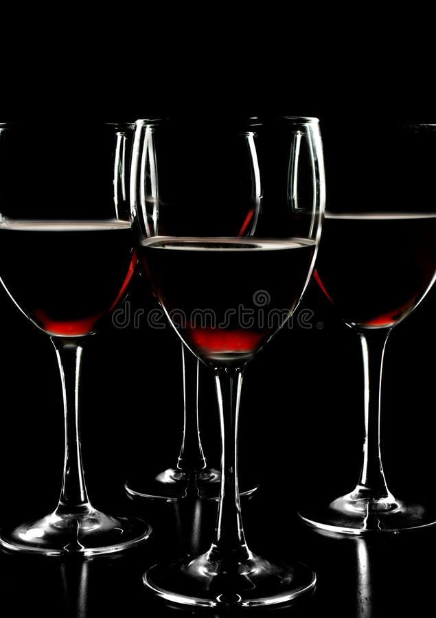 Download Red wine cups stock photo. Image of glassware, alcohol - 10844356