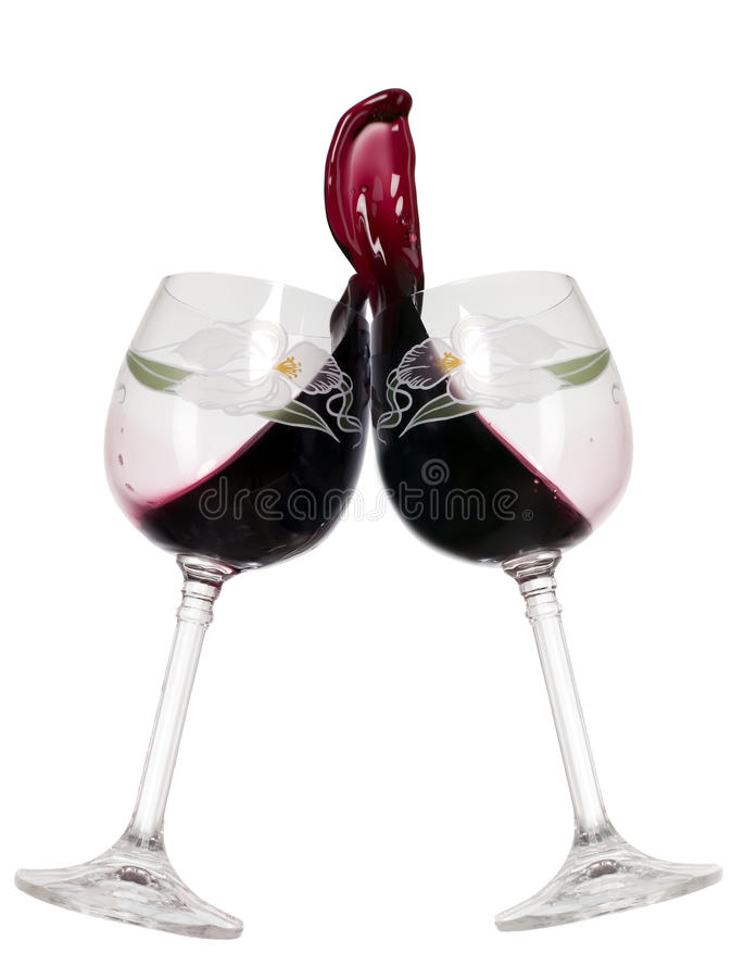 Download Red wine in glass stock image. Image of liquid, background - 12952699