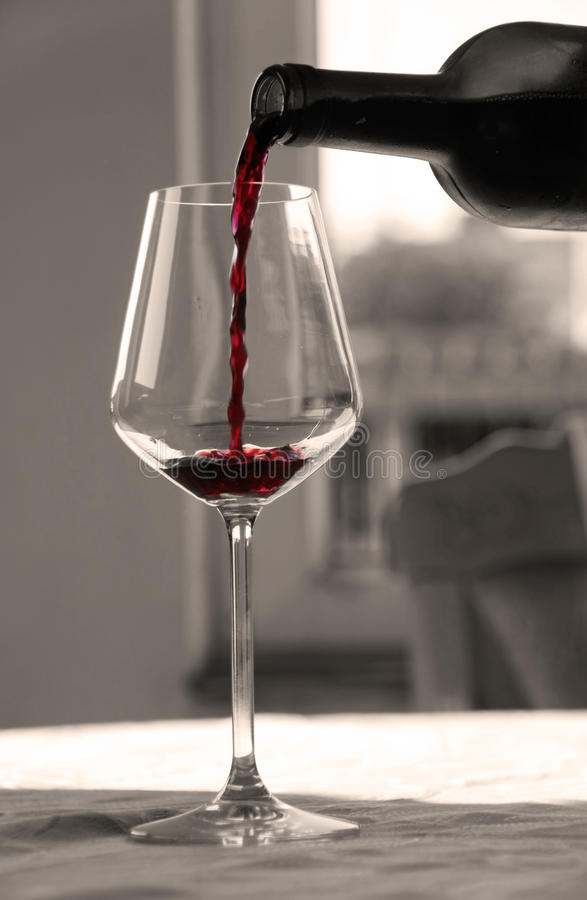 Free Red Wine Glass Stock Image - 16040991