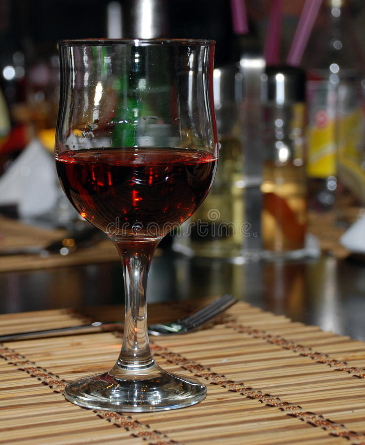 Free Red Wine Glass Stock Images - 17821964