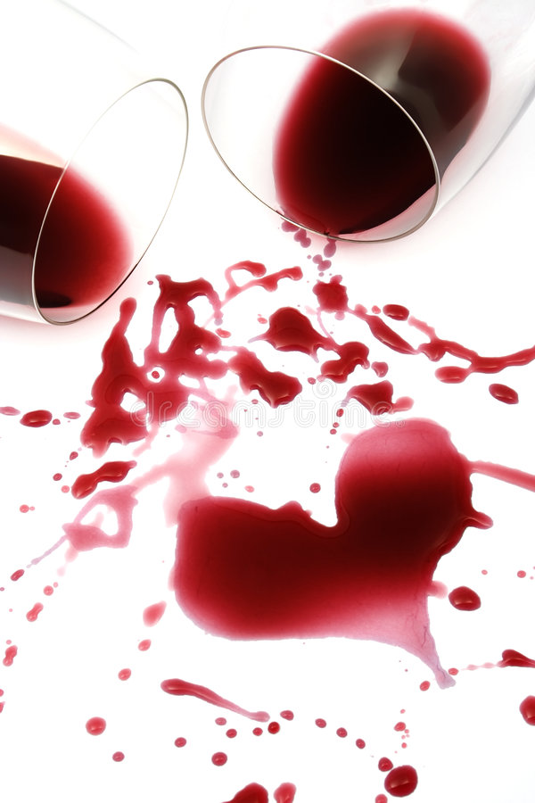Download Red wine heart stock image. Image of drop, emotions, wedding - 4894105