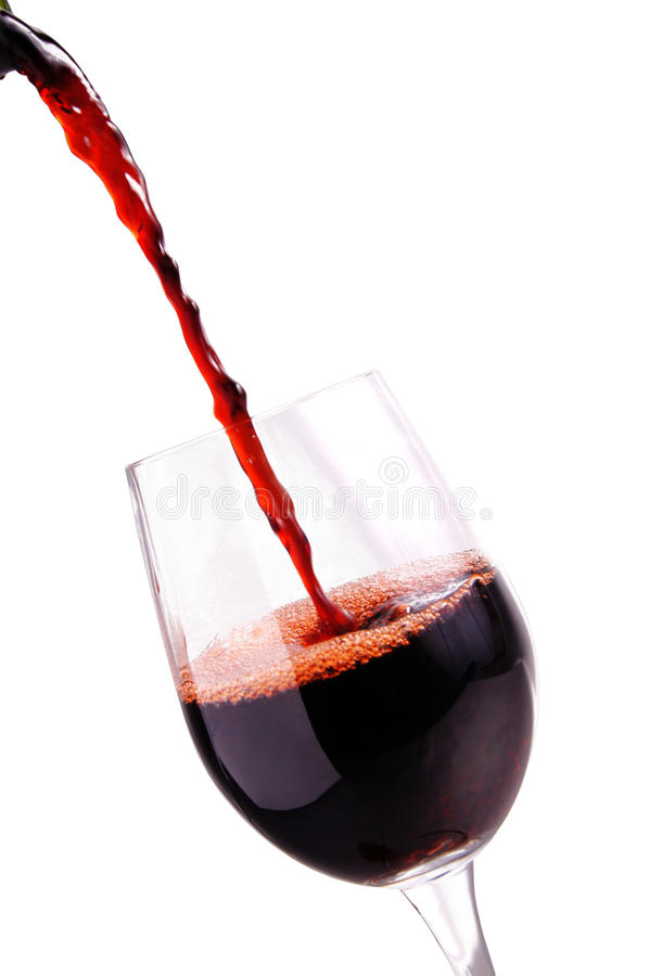 Free Red Wine In A Glass Royalty Free Stock Photo - 15668775