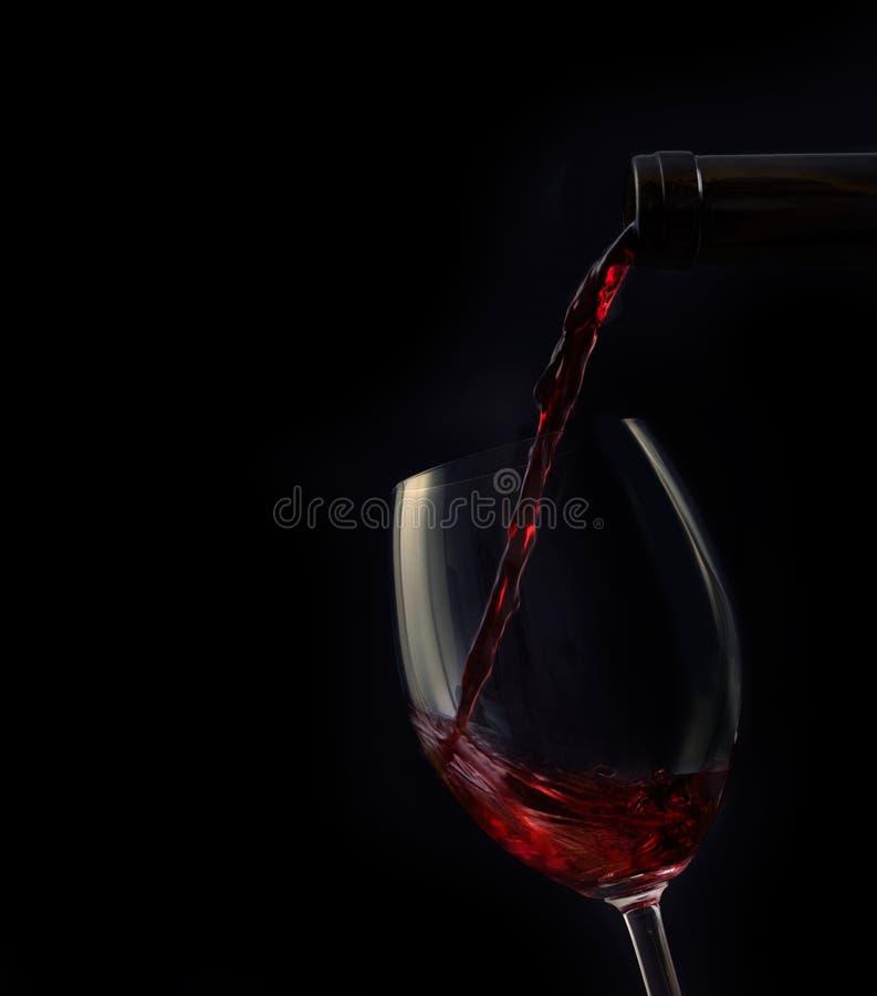 Red wine stock photo