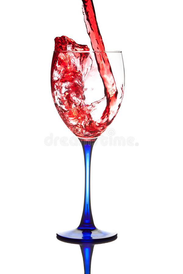 Download Red Wine Pouring stock image. Image of wine, splash, alcohol - 24161143