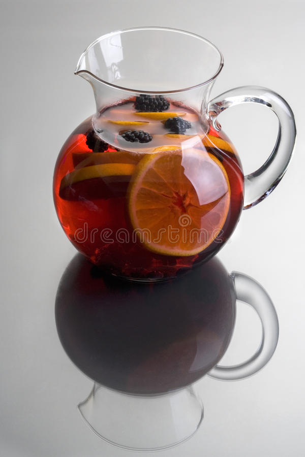 Red Wine Sangria royalty free stock images