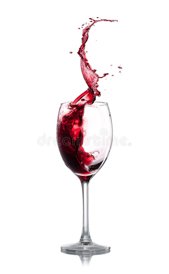 Download Red Wine Splash Royalty Free Stock Photography - Image: 29405767