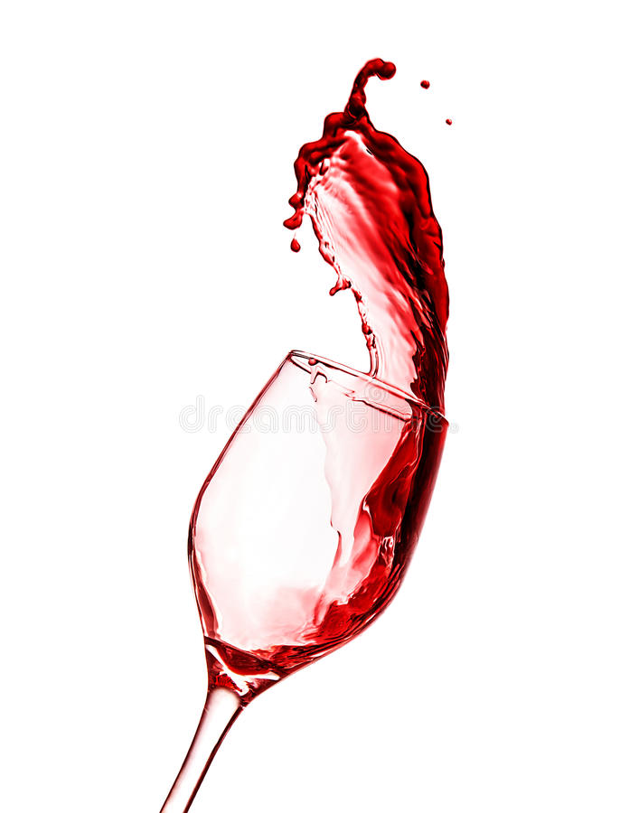 Free Red Wine Splash Royalty Free Stock Photos - 31224788